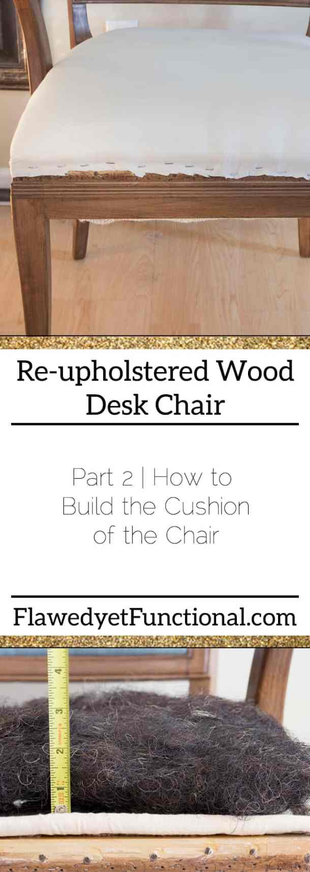 Build the Cushion Upholstery