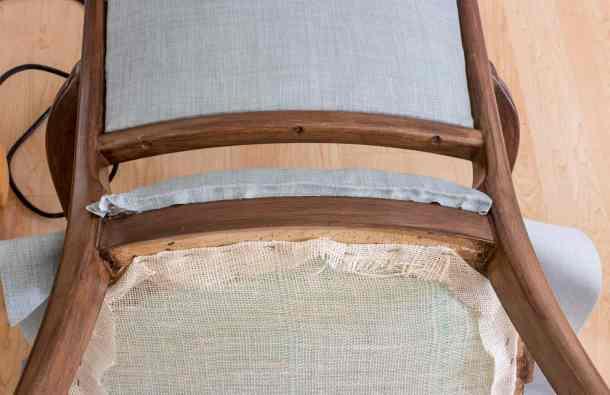 Trim Excess Fabric Tack Strip