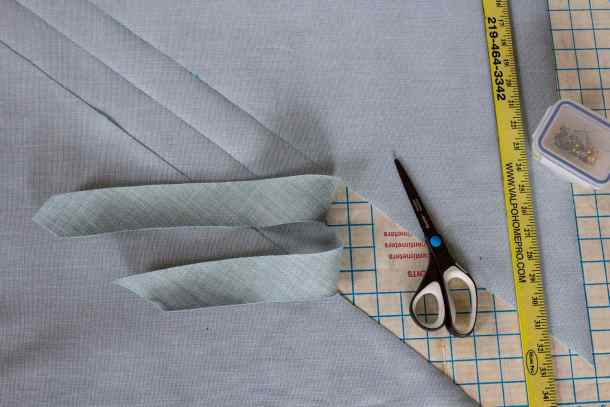 Cut Fabric Strips