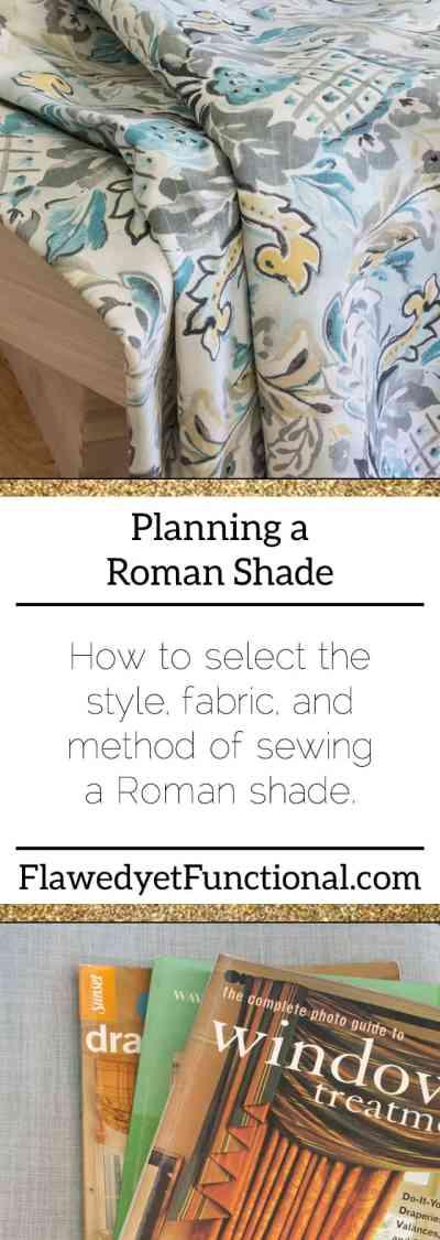 Roman Shade Planning