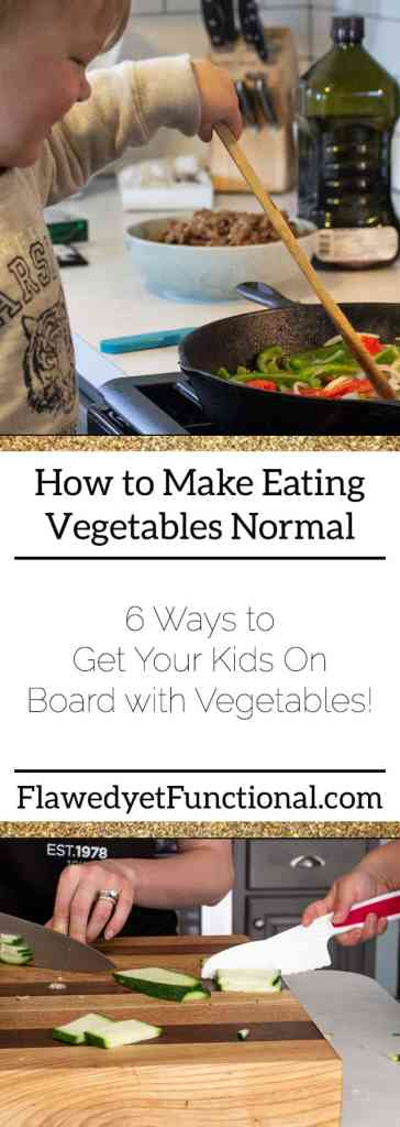 make eating vegetables normal
