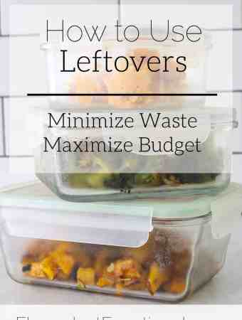 how to use leftovers