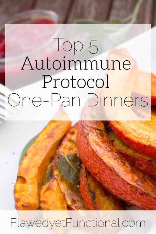 top 5 aip one-pan dinners