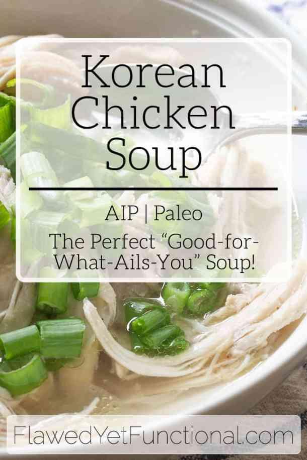 Korean Chicken Soup