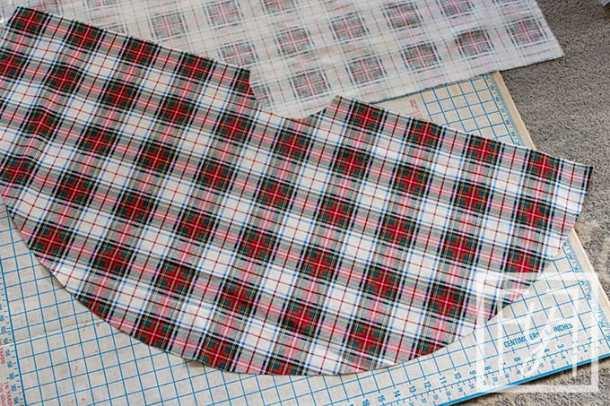 Plaid Christmas Tree Skirt
