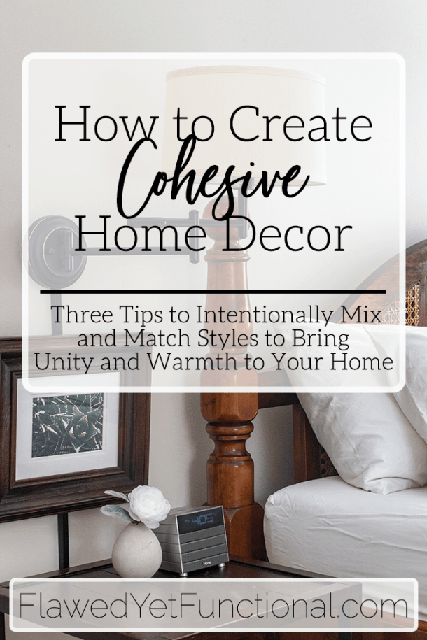 Change Accessories for Cohesive Home Decor