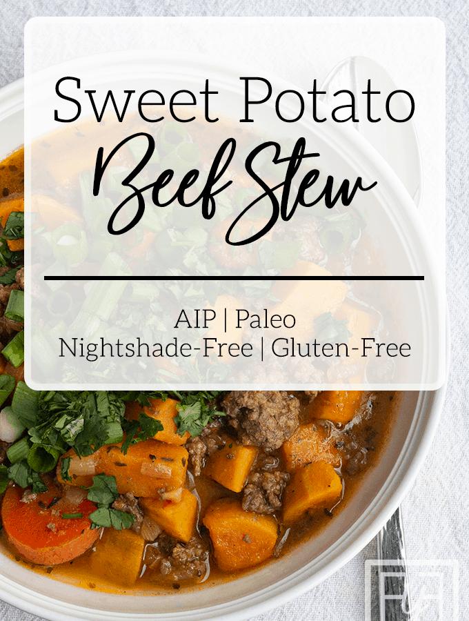 Sweet Potato Beef Stew