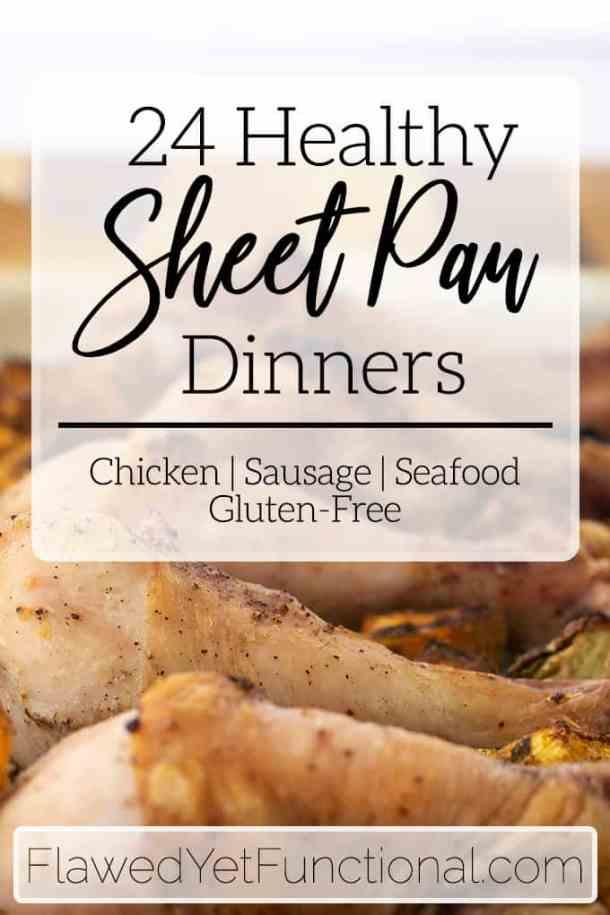 chicken drumsticks gluten free one pan dinner