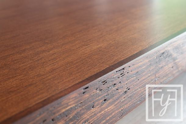 flat topcoat on a Desk from a Door