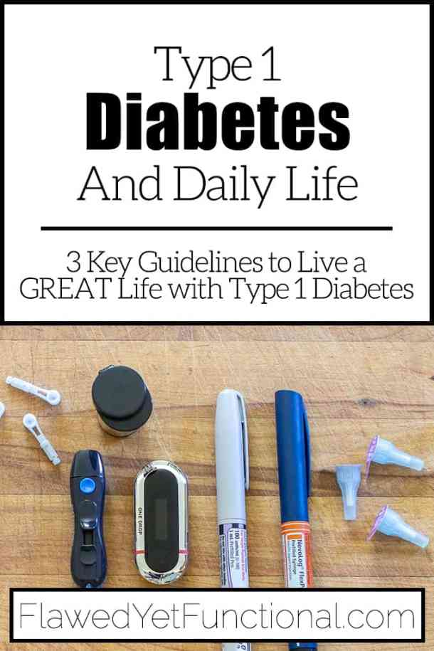 life with type 1 diabetes testing supplies