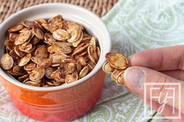 Maple Cinnamon Roasted Pepitas