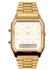 Casio Gold Retro Dial Digital Watch