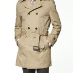 ZARA DOUBLE BREASTED TRENCH COAT WITH HOOD