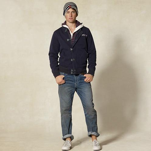 Rugby Ralph Lauren Fleece Tanker Jacket