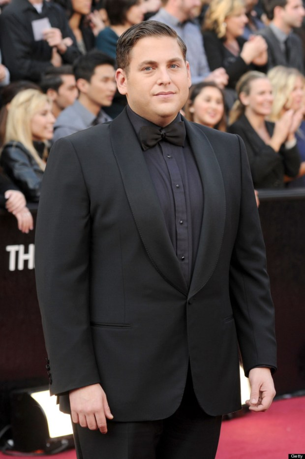 Jonah Hill 2012 Academy Awards Red Carpet