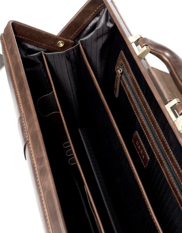 Zara Men's Combined Briefcase With Buckle