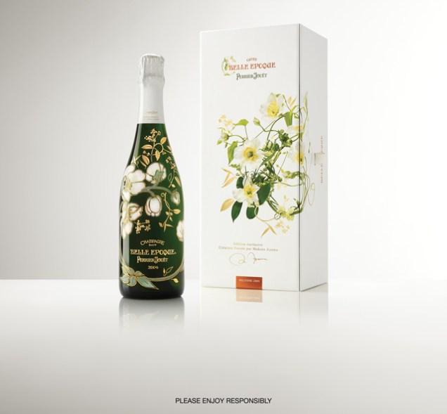 Perrier Jouët Limited Edition BELLE ÉPOQUE Champagne Bottle