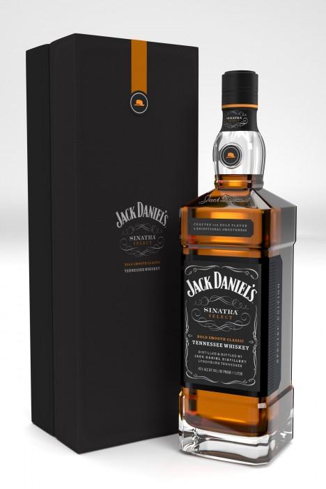 Jack Daniels Frank Sinatra Edition Bottle