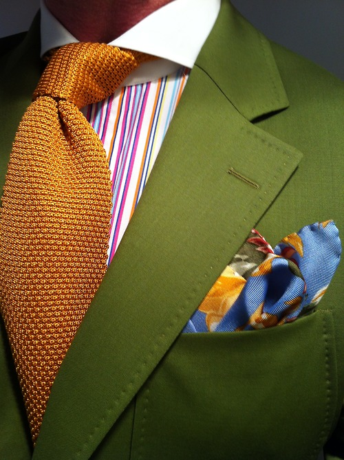 How To Mix Patterns In Your Suit
