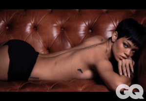 Rihanna For GQ Magazine Behind The Scenes Video
