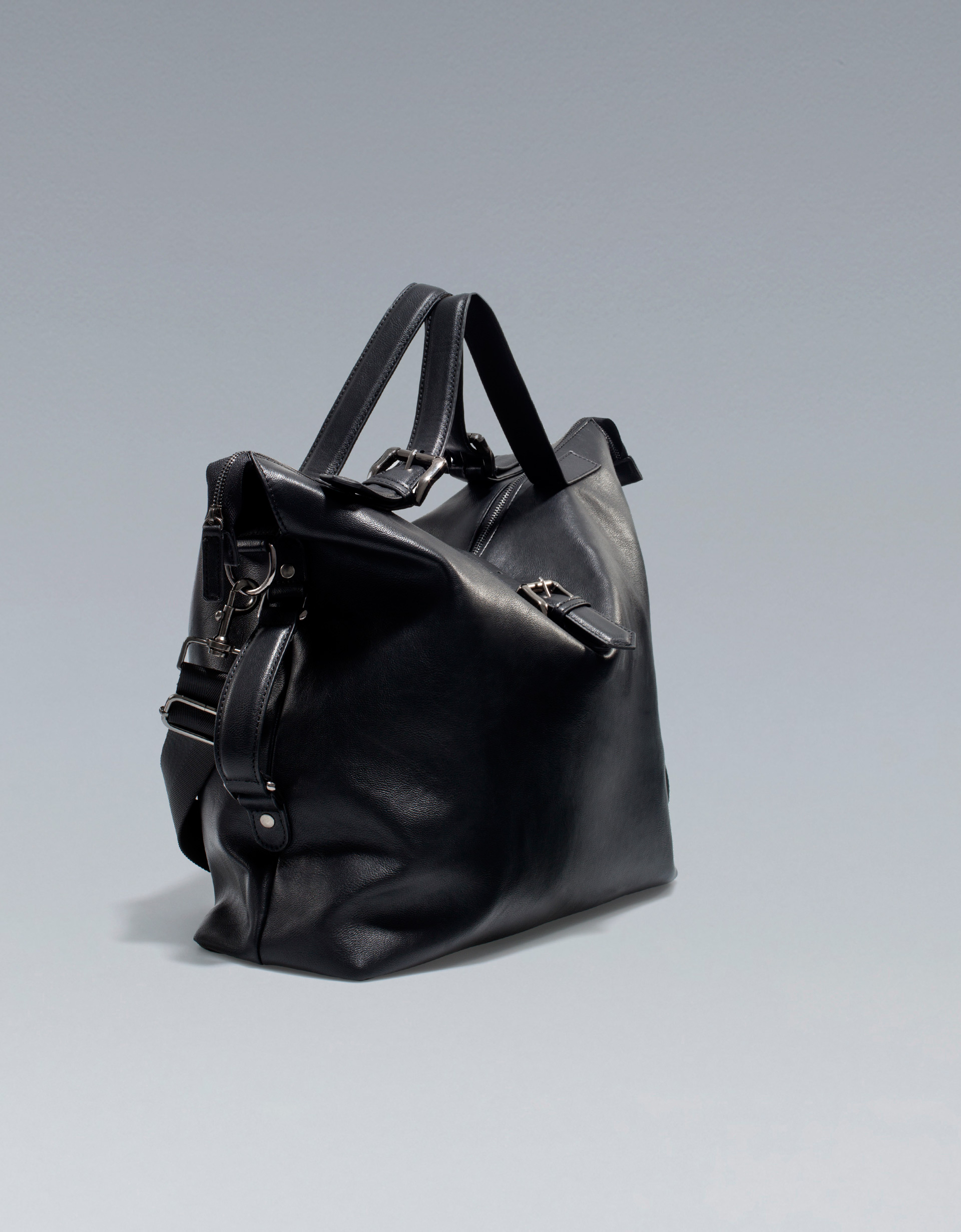 d43fd95e2cc2 Flawless CrownsZara Men's Cary-All Bag With Buckles - Flawless Crowns