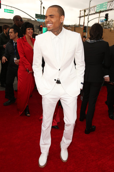 Chris Brown 2013 Grammy Awards