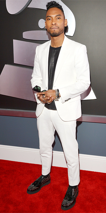 Miguel 2013 Grammy Awards