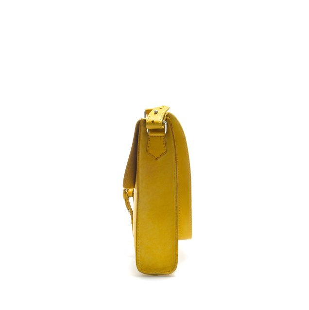 Zara Men's Soft Briefcase In Yellow