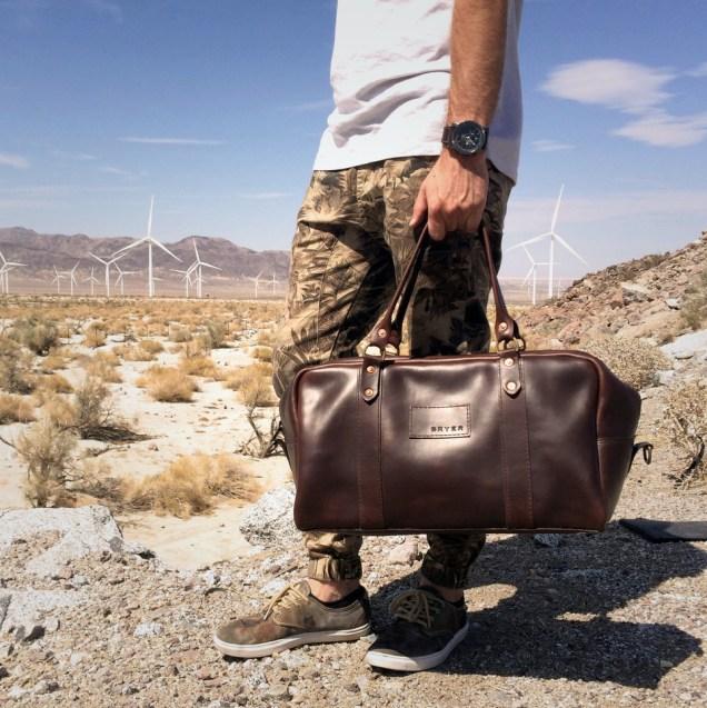 Bryar Leather Duffle Bag
