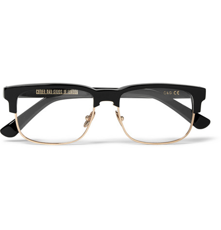 Cutler And Gross Acetate Metal Glasses