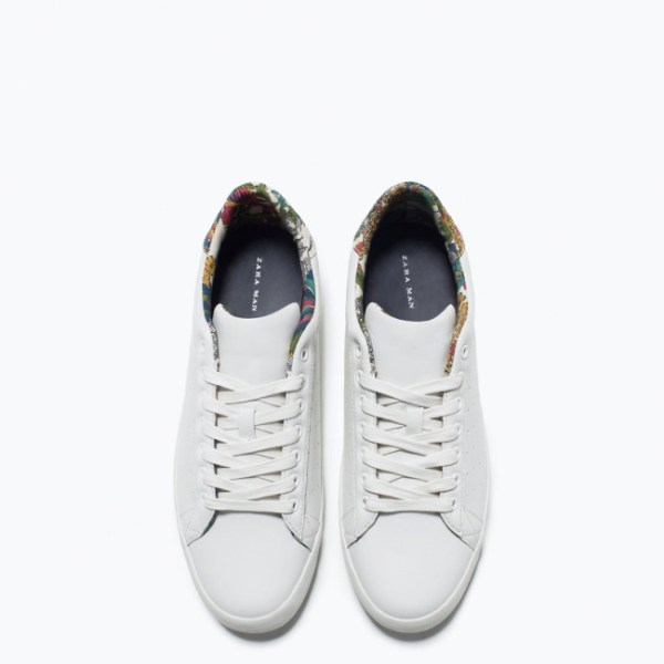 Zara Man Classic Detail Trainer Shoe
