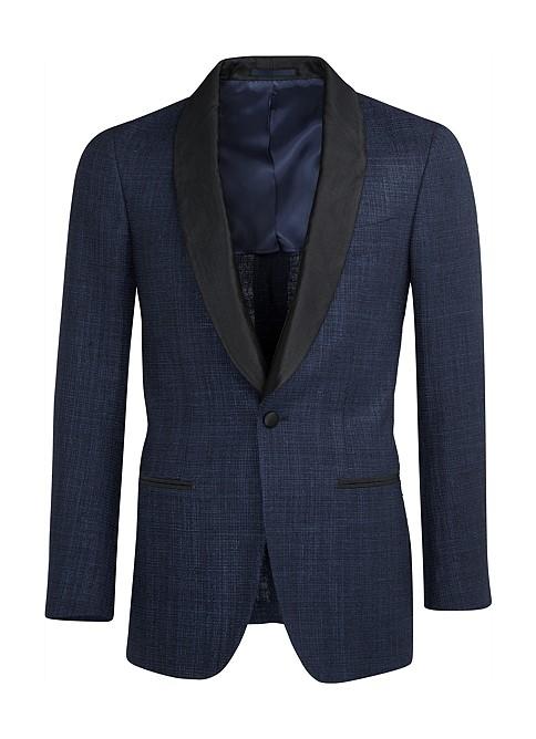 Suitsupply Blue Havana Dinner Jacket