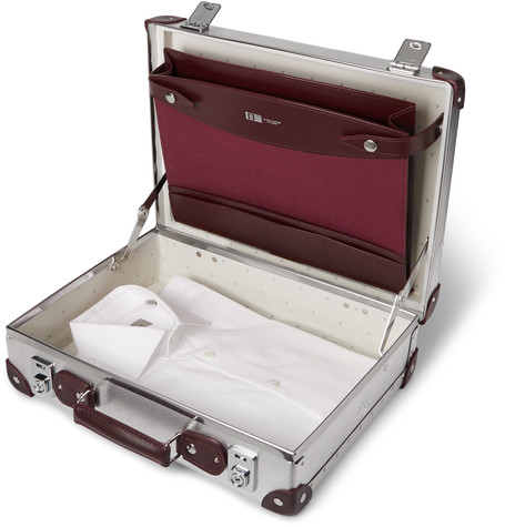 Globe-Trotter EKOCYCLE™ Leather-Trimmed Aluminium Attache Case 2