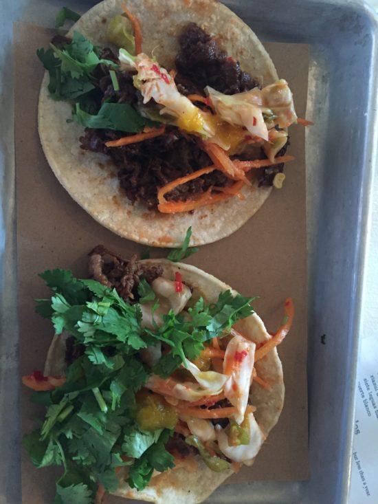 Sesame Ribeye Taco