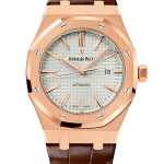 Audemars Piguet Royal Oak Self Winding Watch With Alligator Strap