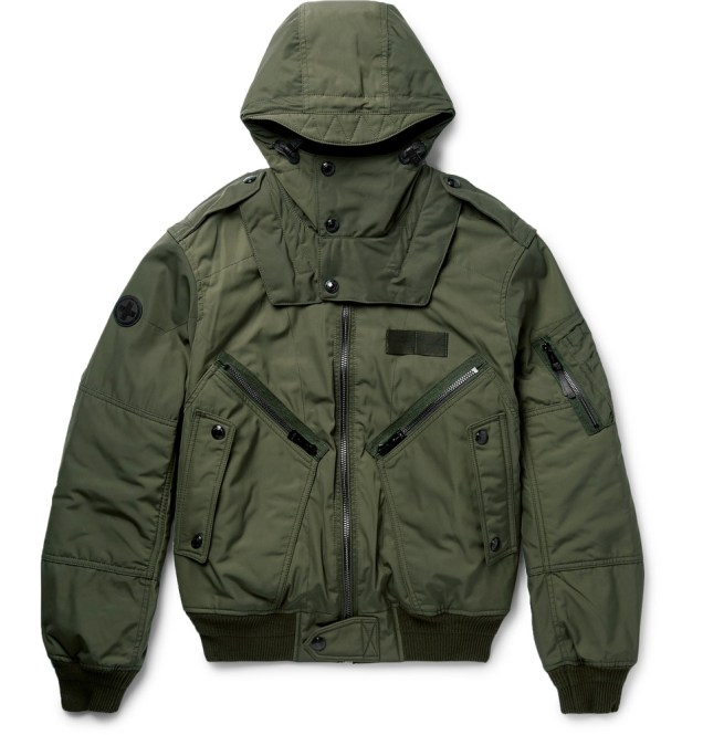 Polo Ralph Lauren Padded Shell Hooded Bomber Jacket