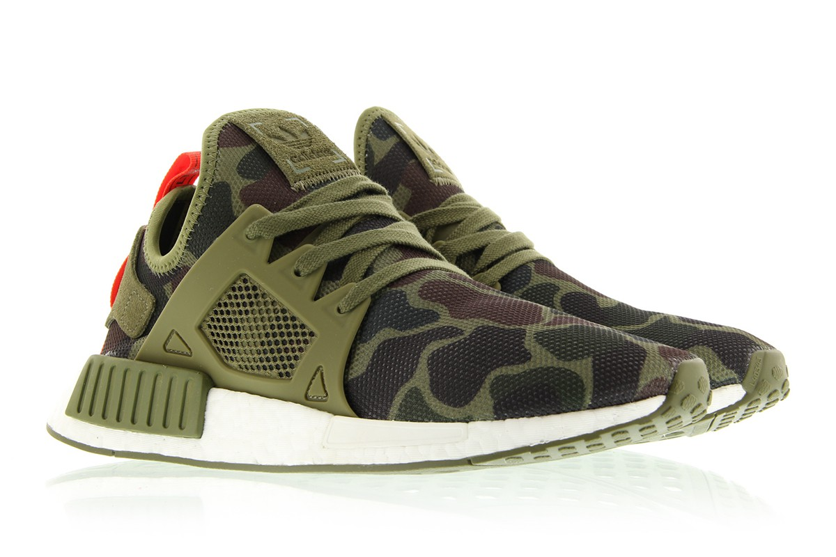 Adidas NMD XR 1 'Olive Green' Duck Camo UNBOXING!