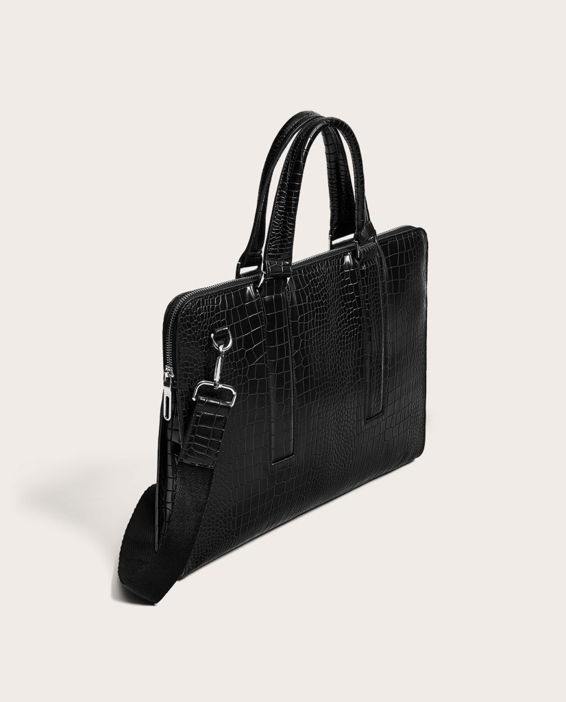 73a7852dec The ZARA Man Slim Briefcase is a great example of an item priced under $100  dollars that will advance any business profile.