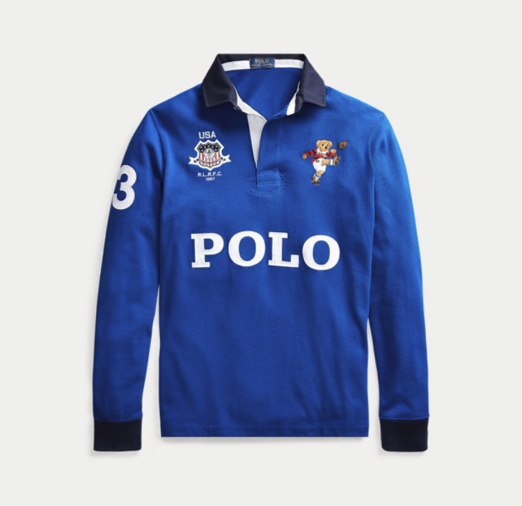 Polo Ralph Lauren Kicker Bear Rugby Collection Flawless Crowns