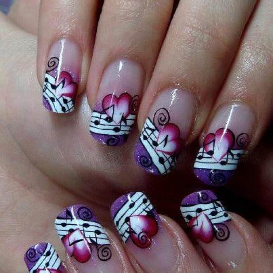 Striped nail designs have never been easier flawlessend source all for fashion design prinsesfo Images