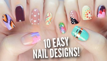 10 easy nail art designs for christmas the ultimate guide 4 10 easy nail art designs for beginners the ultimate guide 2 prinsesfo Gallery
