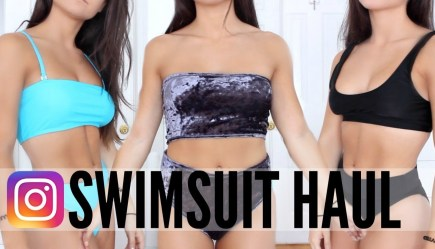 ac670c4b9ab38 TRYING On INSTAGRAM SWIMSUITS ! HUGE SWIMSUIT HAUL !