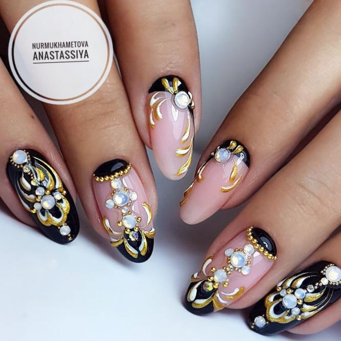 21 Ideas of Luxury Nails To Really Dazzle – FlawlessEnd