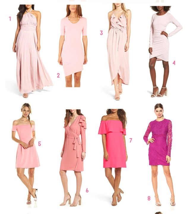 Red, White, and Pink All Over: Cute Valentine's Day Cocktail Dresses under $100 by fashion blogger Stephanie Ziajka from Diary of a Debutante, Cocktail dresses under 100, Valentines dresses under 100, Affordable blush cocktail dresses, cheap cocktail dresses online