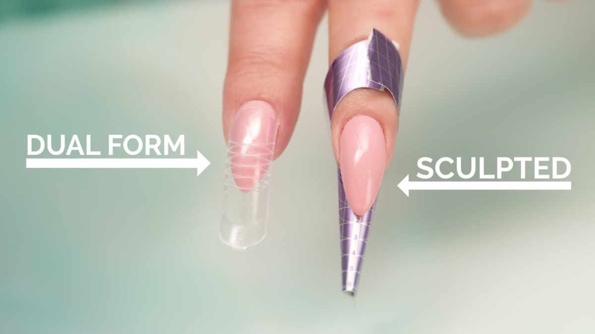 Dual Forms vs Sculpted Acrylic Nails – FlawlessEnd