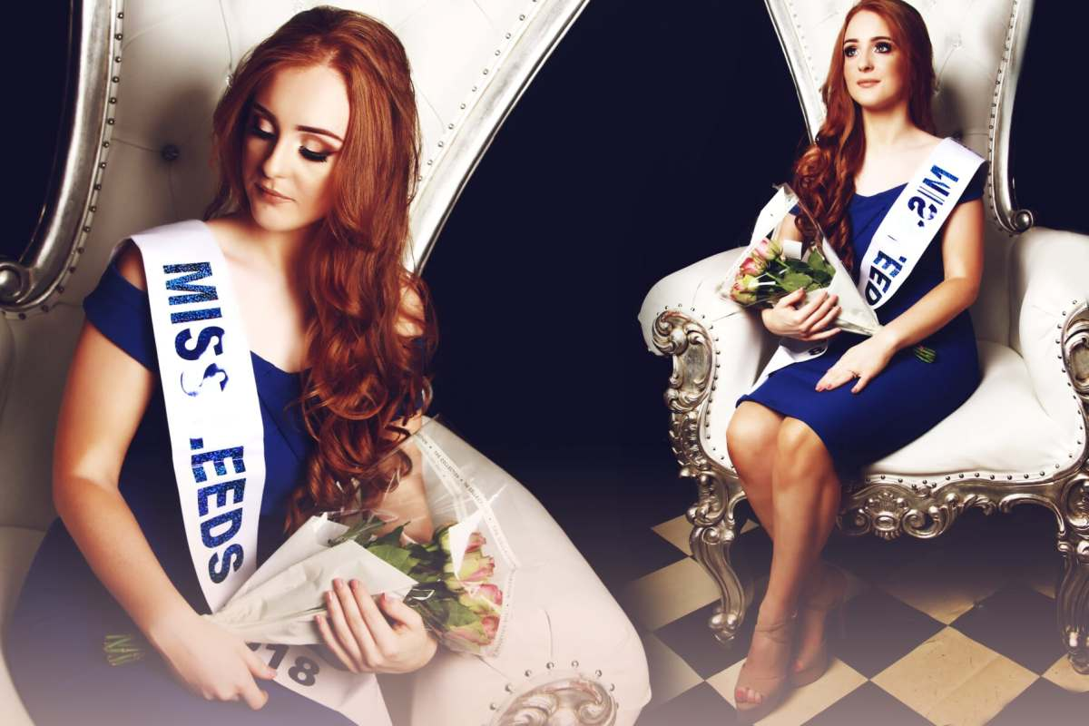 Emily Austin, the fabulous, newly-crowned Miss Leeds.