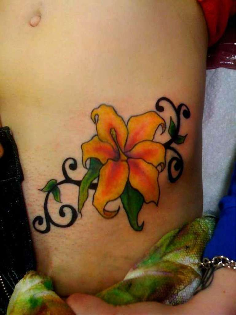 Flower Tattos Shoulder