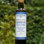Organic high lignan linseed  (flax seed) oil