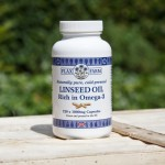 1000mg Cold-pressed Linseed oil capsules (Flax seed)