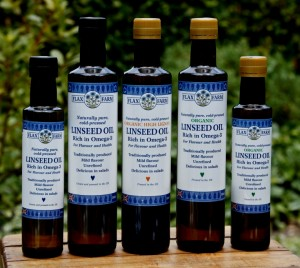Farm cold-pressed linseed oil is an excellent source for omega-3